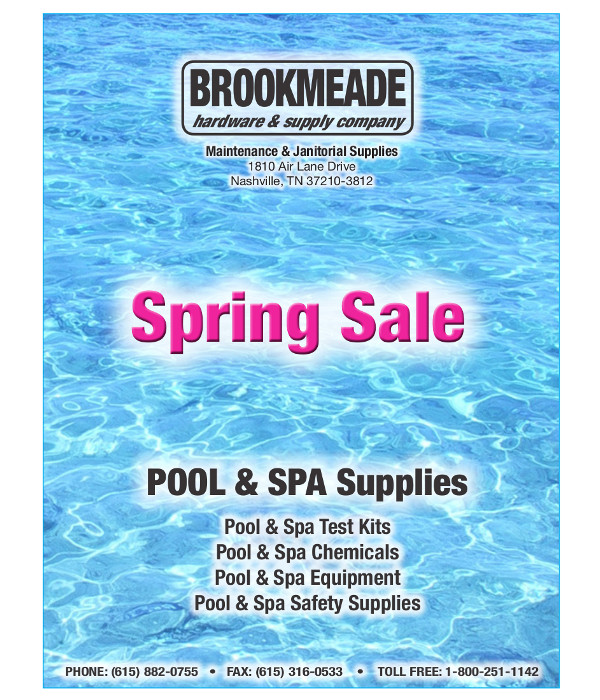 Pool Sale Flyer