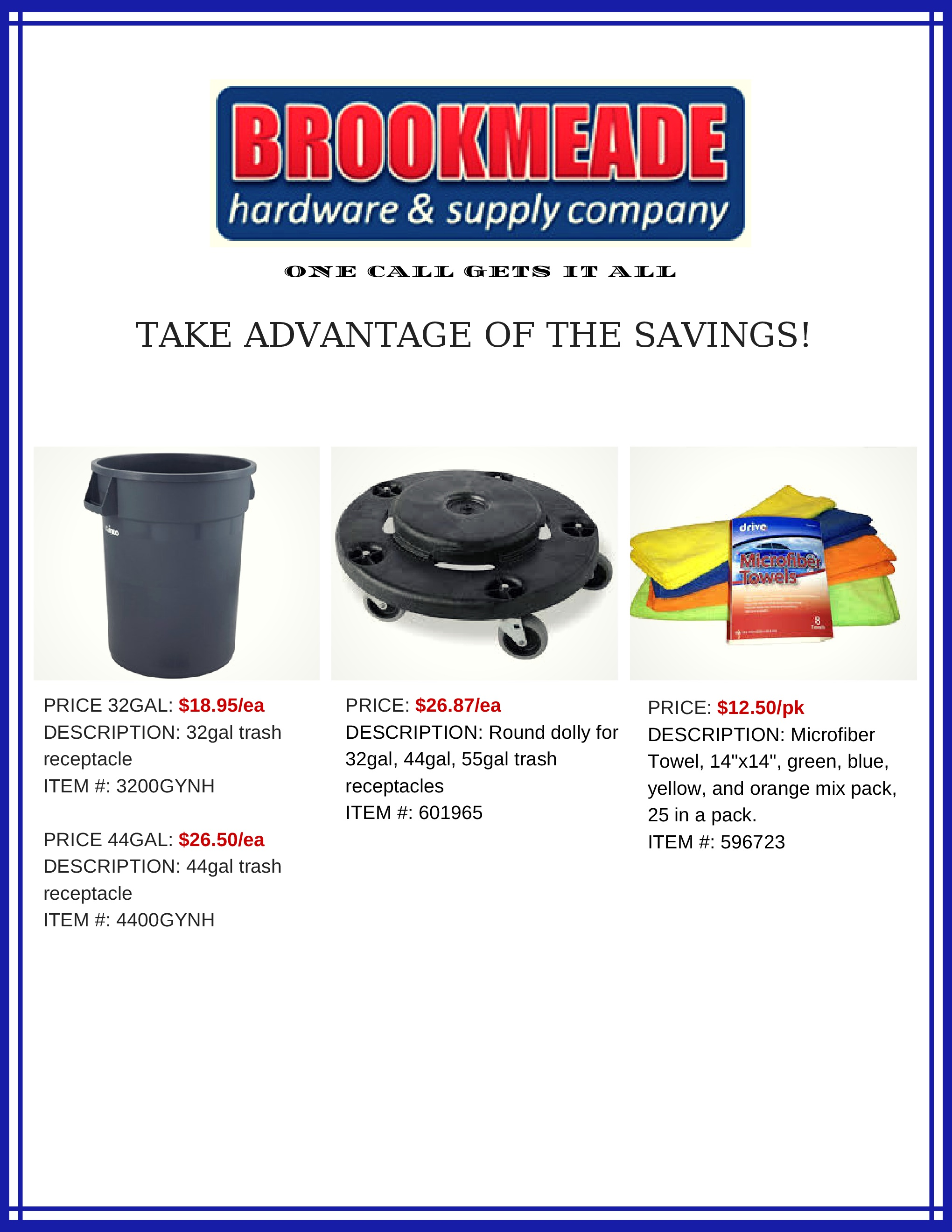 sales flyers and promotions brookmeade hardware supply